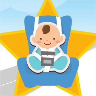 Regelung für Kindersitze in den Fahrzeugen