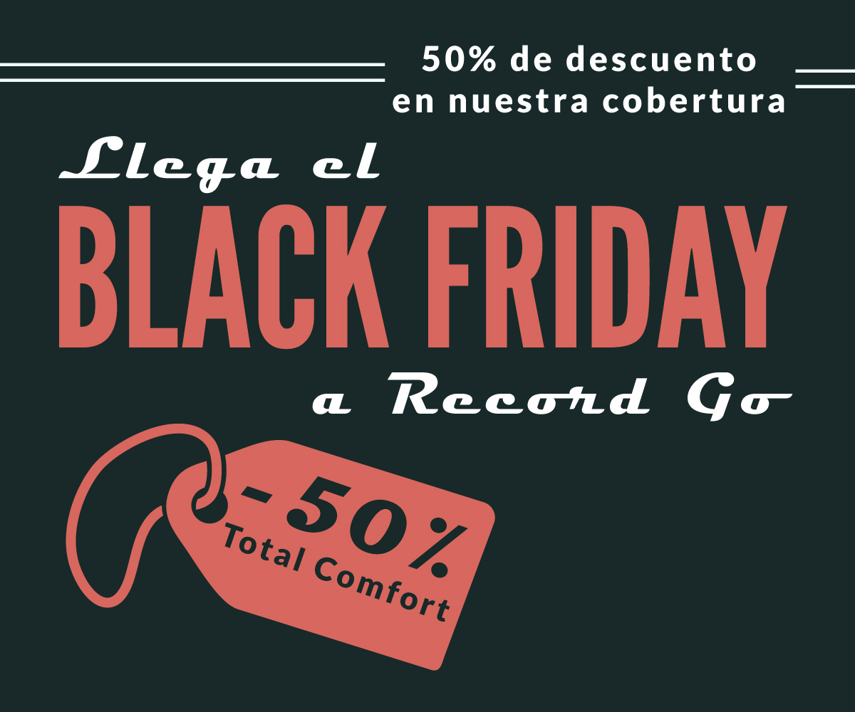 Record Go se apunta al Black Friday 2016