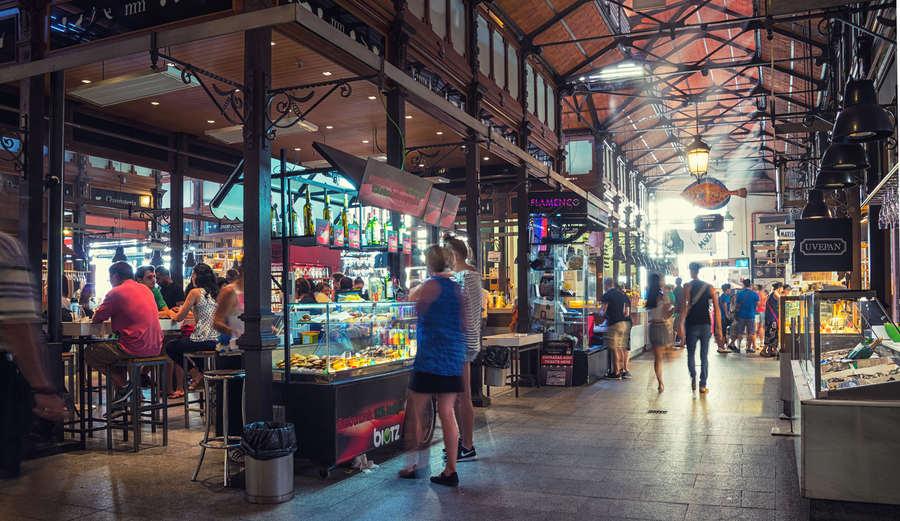 De cañas y tapas por los mercados de Madrid