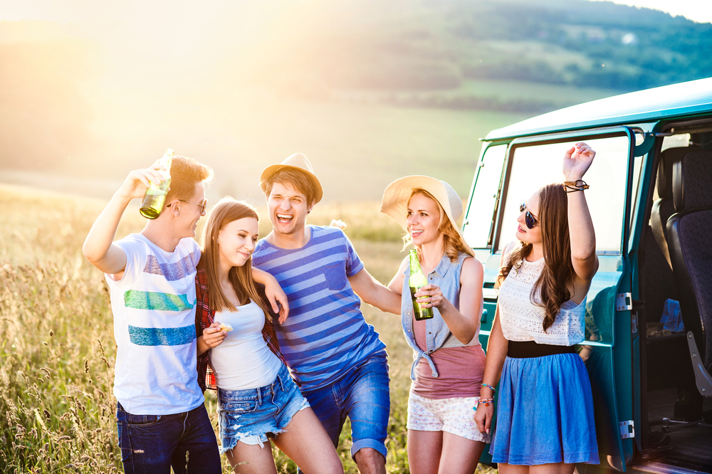 7 typical types of friends in a road trip