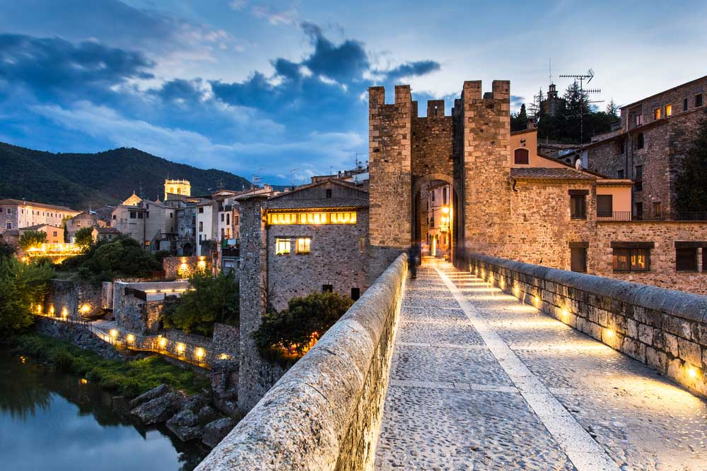 Charming villages of Girona