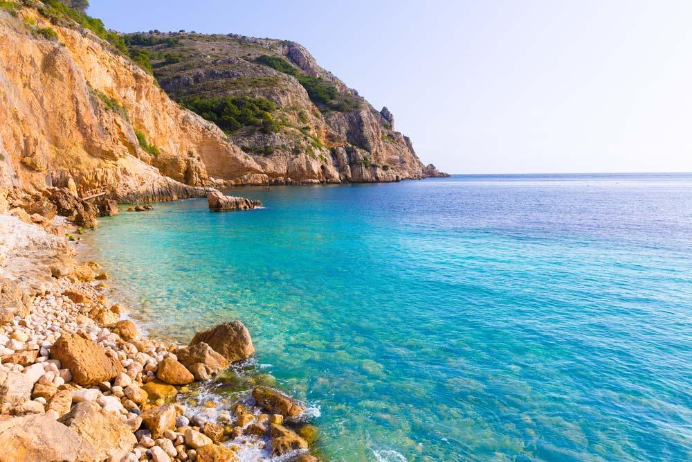 Fahrzeugroute durch das Mittelmeer von Sorolla