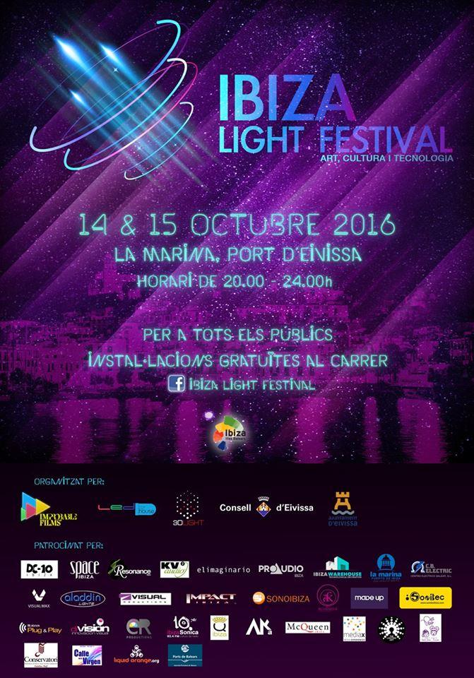 Llega el Light Festival a Ibiza