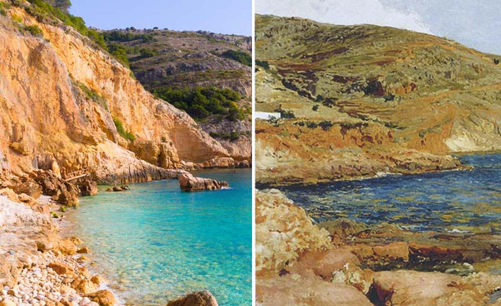 Road trip through the Sorolla's Mediterranean
