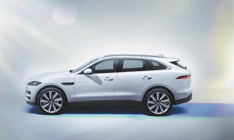 Der Jaguar F-Pace, als das Beste Fahrzeug der Welt 2017 ausgezeichnet