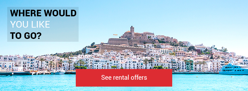 Car rental Ibiza airport to discover
