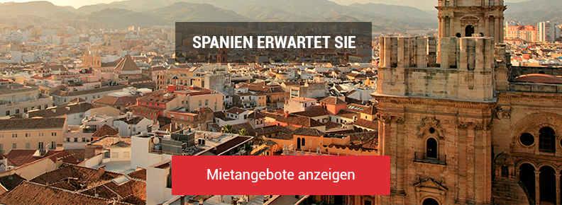 Mietangebote anzeigen - Spanien Erwartet sie