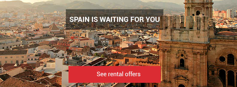 Spain is waiting for you. See car rental offers here.
