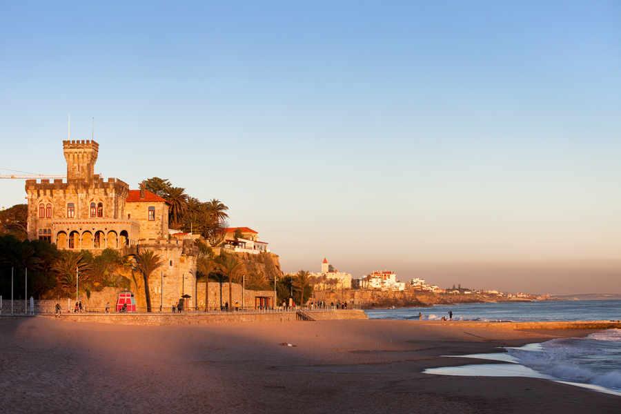 Casino Estoril y Playa de Tamariz