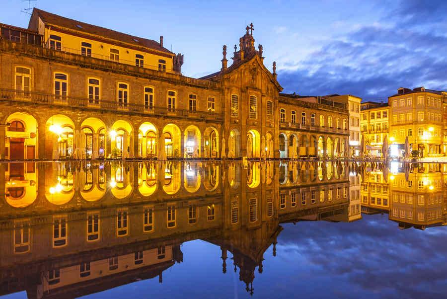 Visitar Braga en coche de alquiler