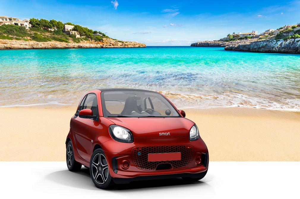 Profitieren Sie von den Angeboten und fahren Sie mit einem Elektroauto durch Mallorca