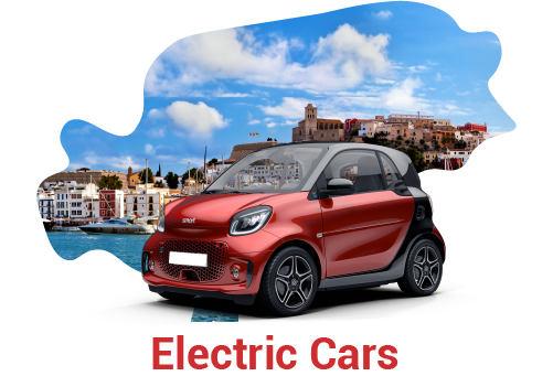 Elektroautovermietung Ibiza