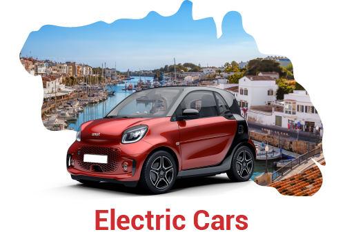 Elektroautovermietung Menorca