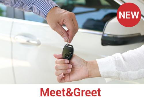 Meet and Greet für Mietwagen