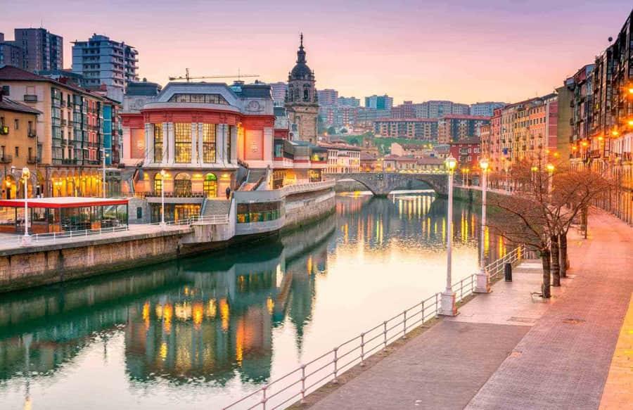 Coche de alquiler en Bilbao