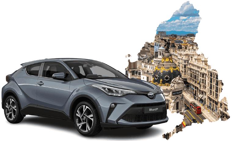 Car hire in Madrid Atocha