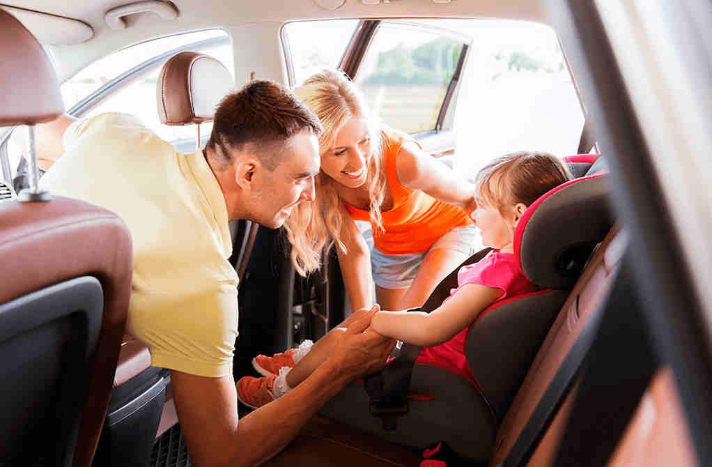 sistema de retenció infantil a Record go rent a car