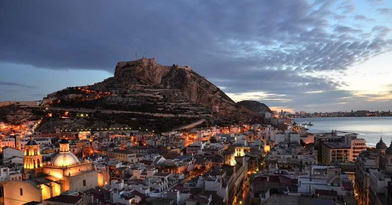 Nit de Sant Joan. Alicante