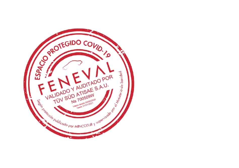 Sello FENEVAL Record go rent a car