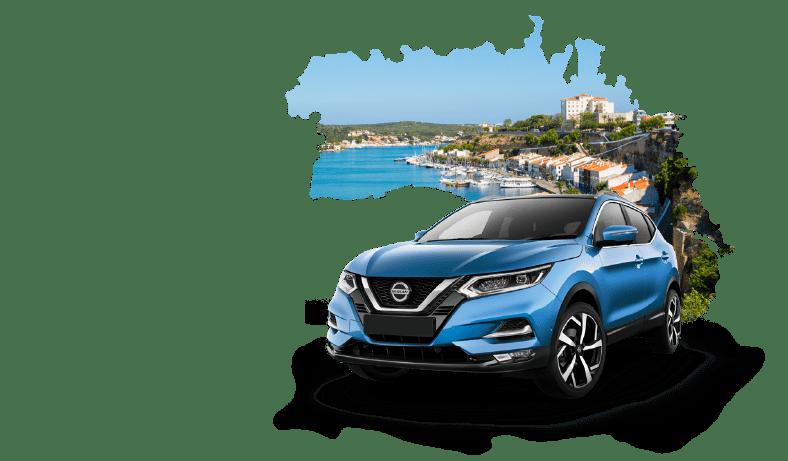 Rent a car Menorca Record go (Spain)