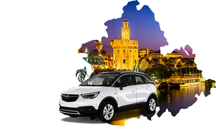 Alquiler de coches en Sevilla Aeropuerto
